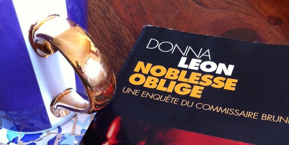 Noblesse Oblige | Donna Leon