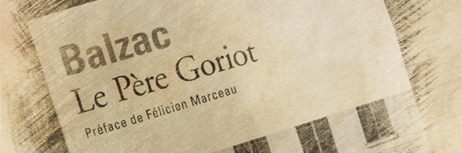 Honoré de Balzac   Le Père Goriot