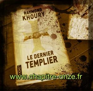 Raymond Khoury, Le dernier templier, couverture