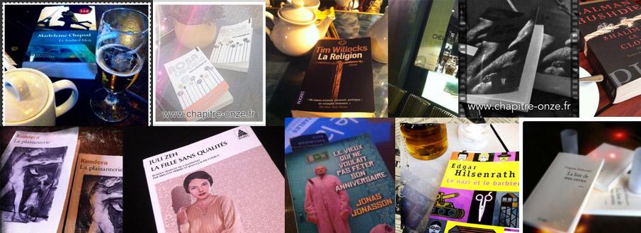 Les livres 2013 du club de lecture de Nice