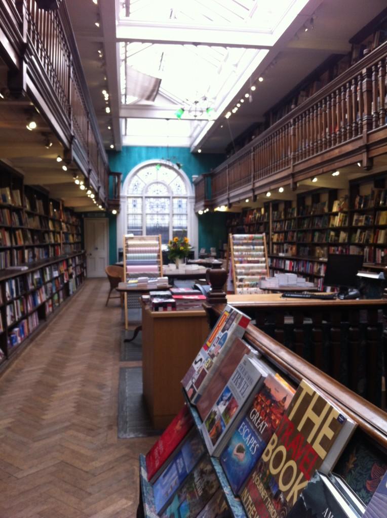 Daunt Books dans Marylebone street