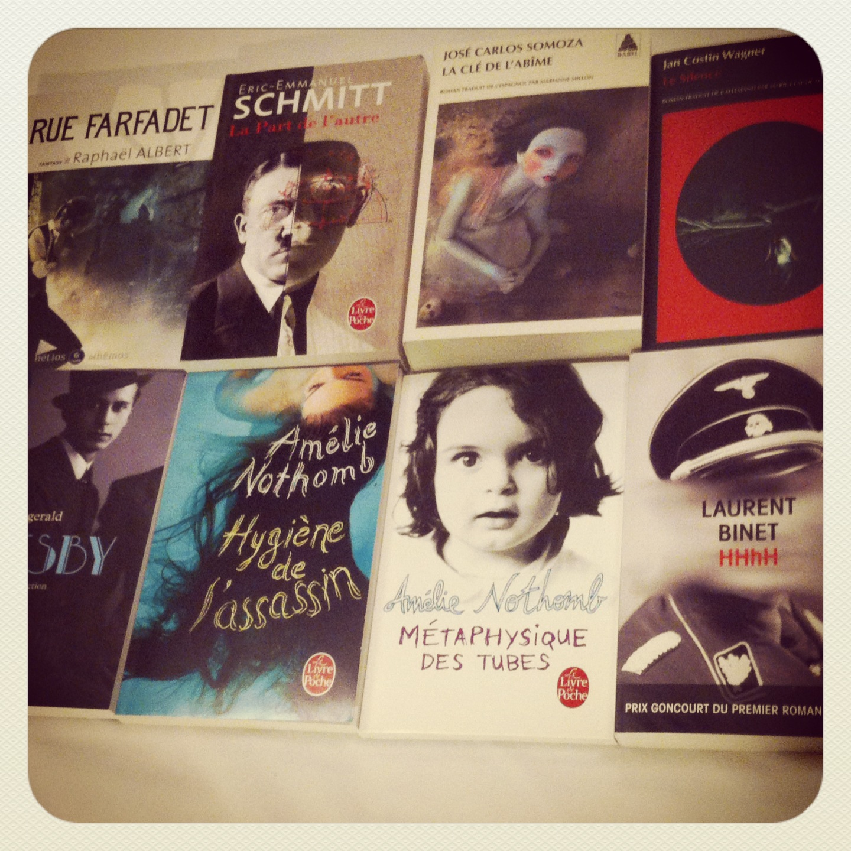 Achats au Salon du livre de Paris 2014
