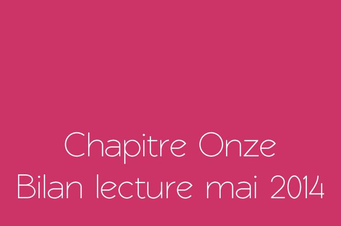 Bilan lecture mai 2014