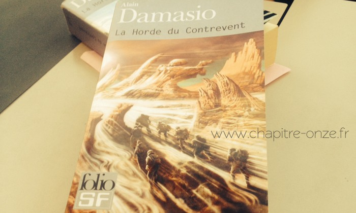 Alain Damasio, La horde du contrevent