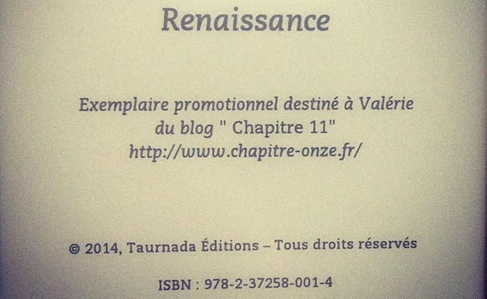 Renaissance de JB Dethieux
