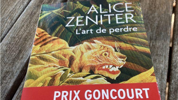 Alice Zeniter, l'Art de Perdre